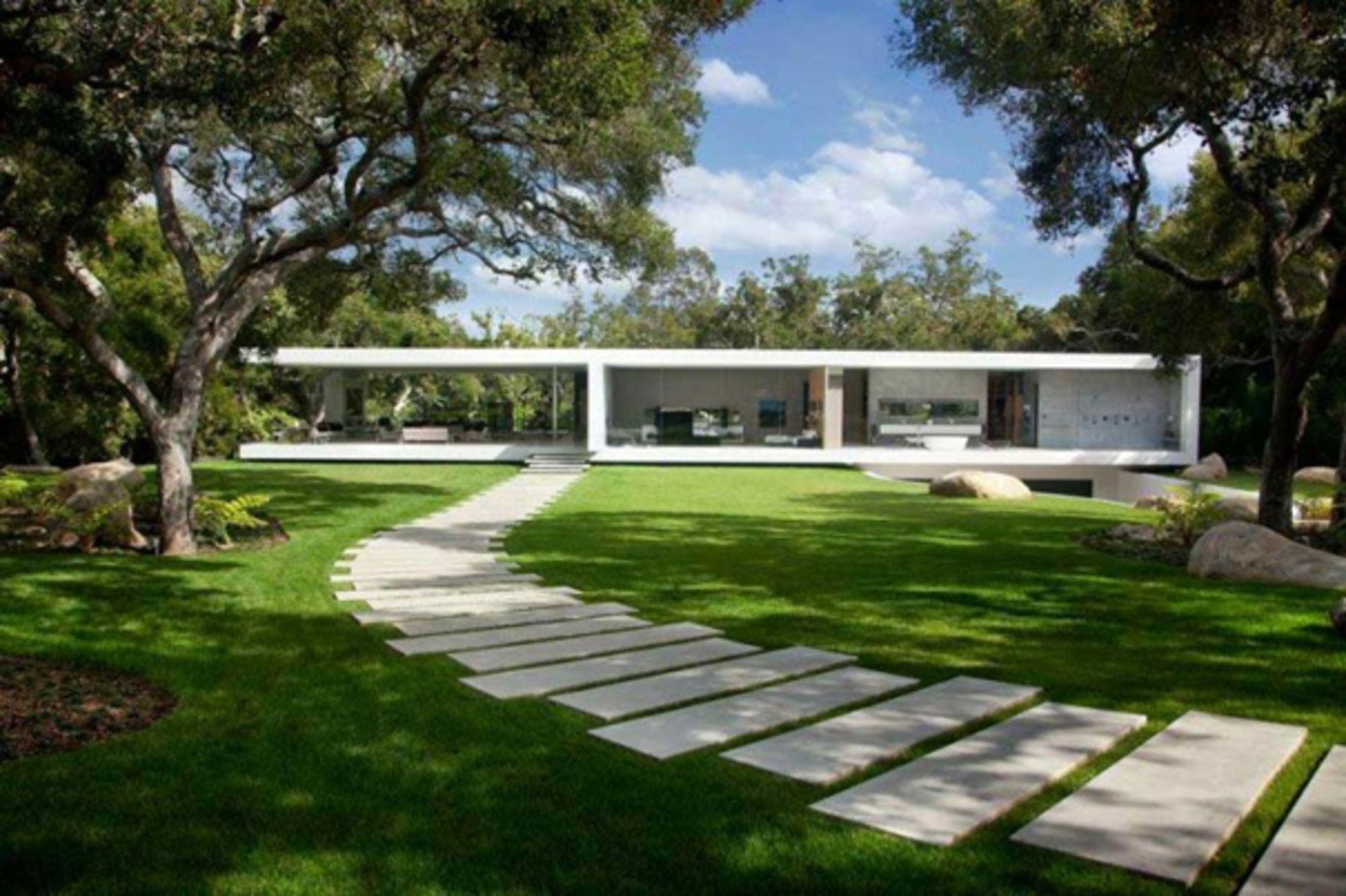 Desing casa de vidro perfect house pinterest glass pavilion house design e house - Residence de luxe montecito santa barbara ...