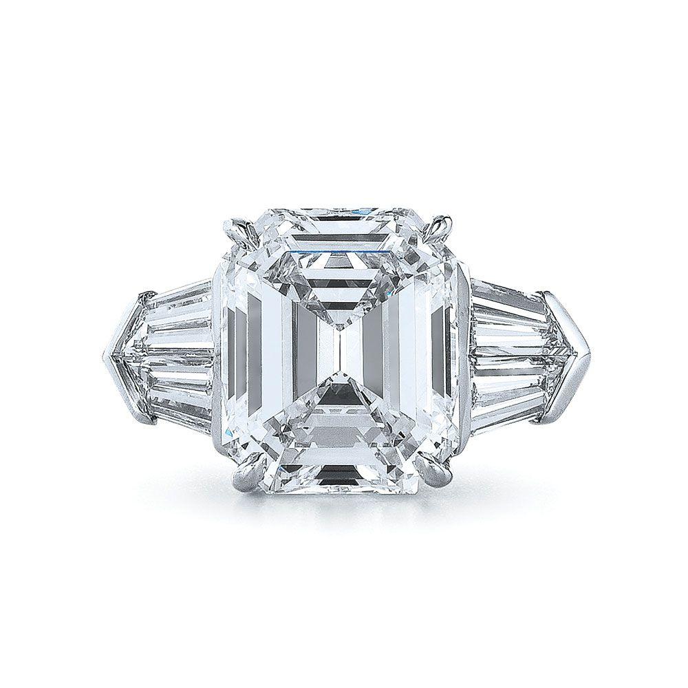 Emerald Cut Diamond Ring