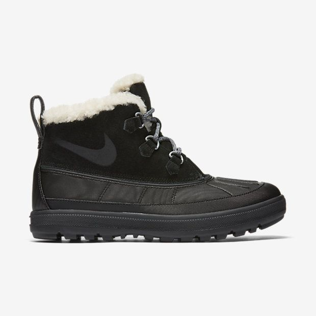 watch d47a9 6cac7 NIKE WOODSIDE CHUKKA 2 BOOTS IN BLACK/ANTHRACITE | Tip Toeing Away ...