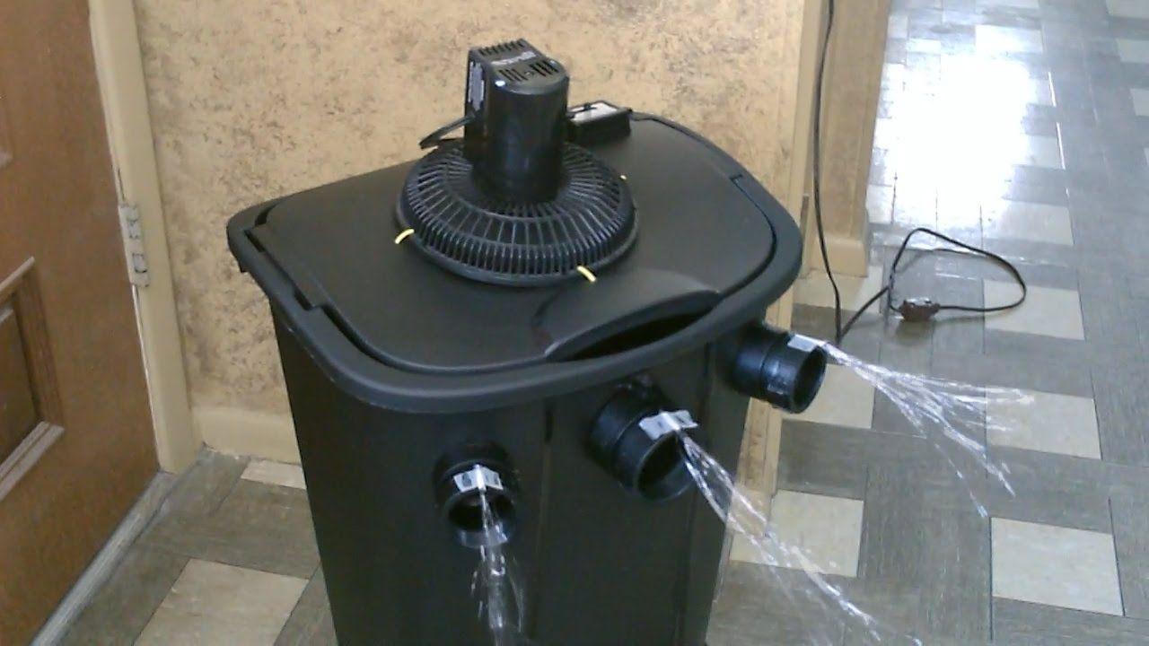 Homemade ac air cooler the 11 gallon bucket air
