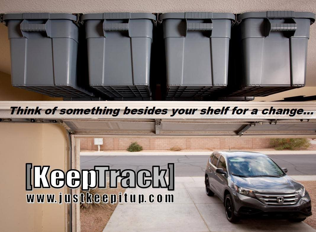 Garage organizing by keep space overhead storage youtube clever garage organizing by keep space overhead storage youtube solutioingenieria Image collections