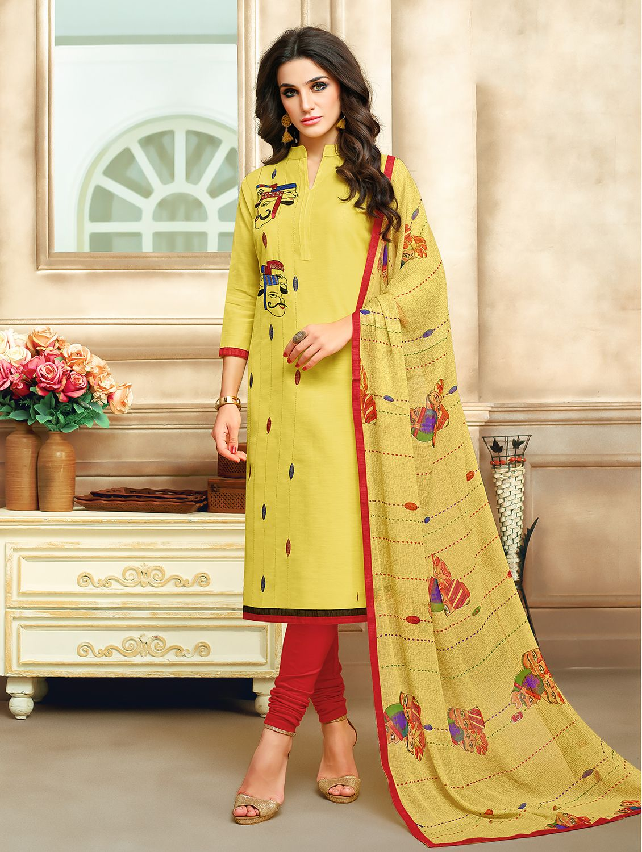 3acf1c9b00 #letest #hits #under 1000/- #DURGA PUJA #Ratnavati #Chanderi #Cotton  #Floral #Print #Semi-stitched #Salwar #Suit #Dupatta #Material #flipkart  dress