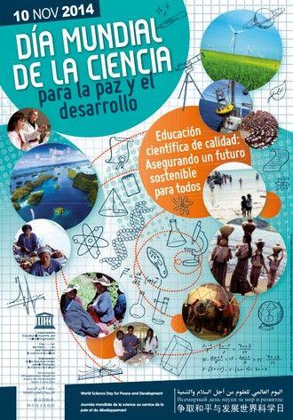 Hoy se celebra el Día Mundial de la #Ciencia para la #Paz y el Desarrollo http://shar.es/10F48R #CienciaVe