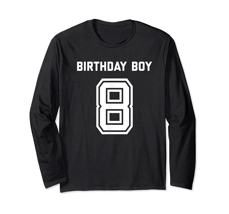 Birthday Boy Age 8 Eight  Boys Kids T-Shirt Birthday Gift  Age 1-13