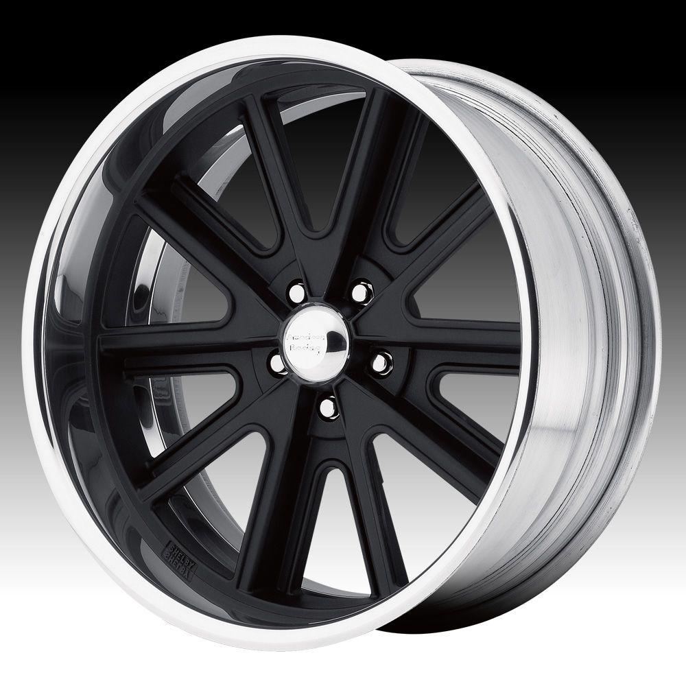 Vintage american racing wheels american racing vn407 shelby cobra sl black custom wheels rims