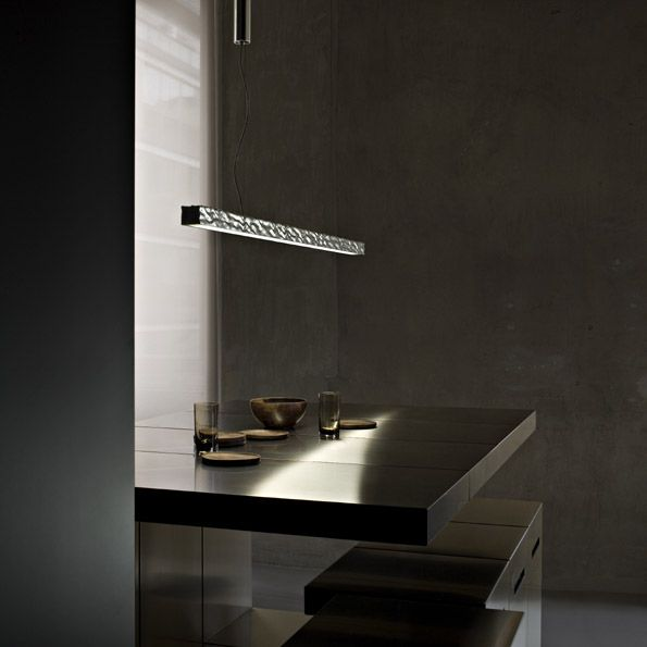 Flos long and hard suspension pendant light
