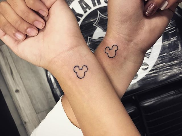 Photo of 101 Magical Disney Tattoos That Will Inspire You to Get Inked –  Matching couple…