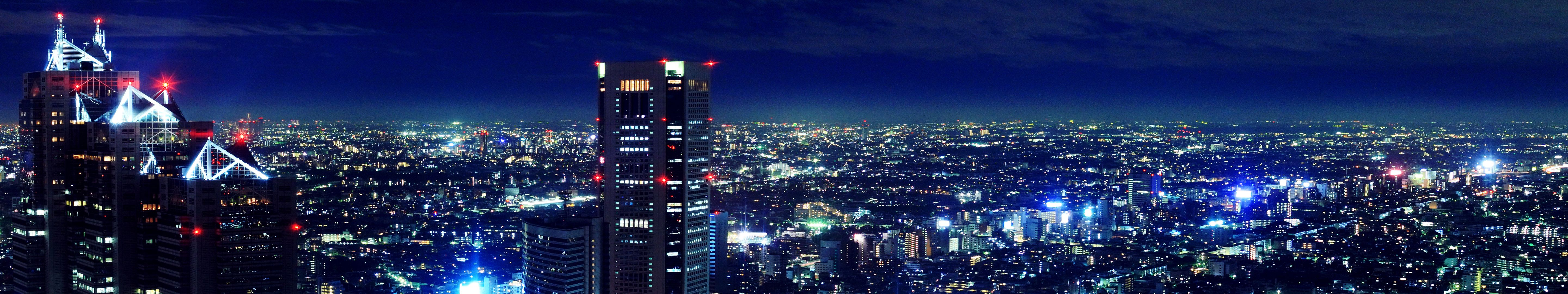 158 5760x1080 Wallpapers Hd Backgrounds Wallpaper Abyss Cityscape Hd Backgrounds Night Photography