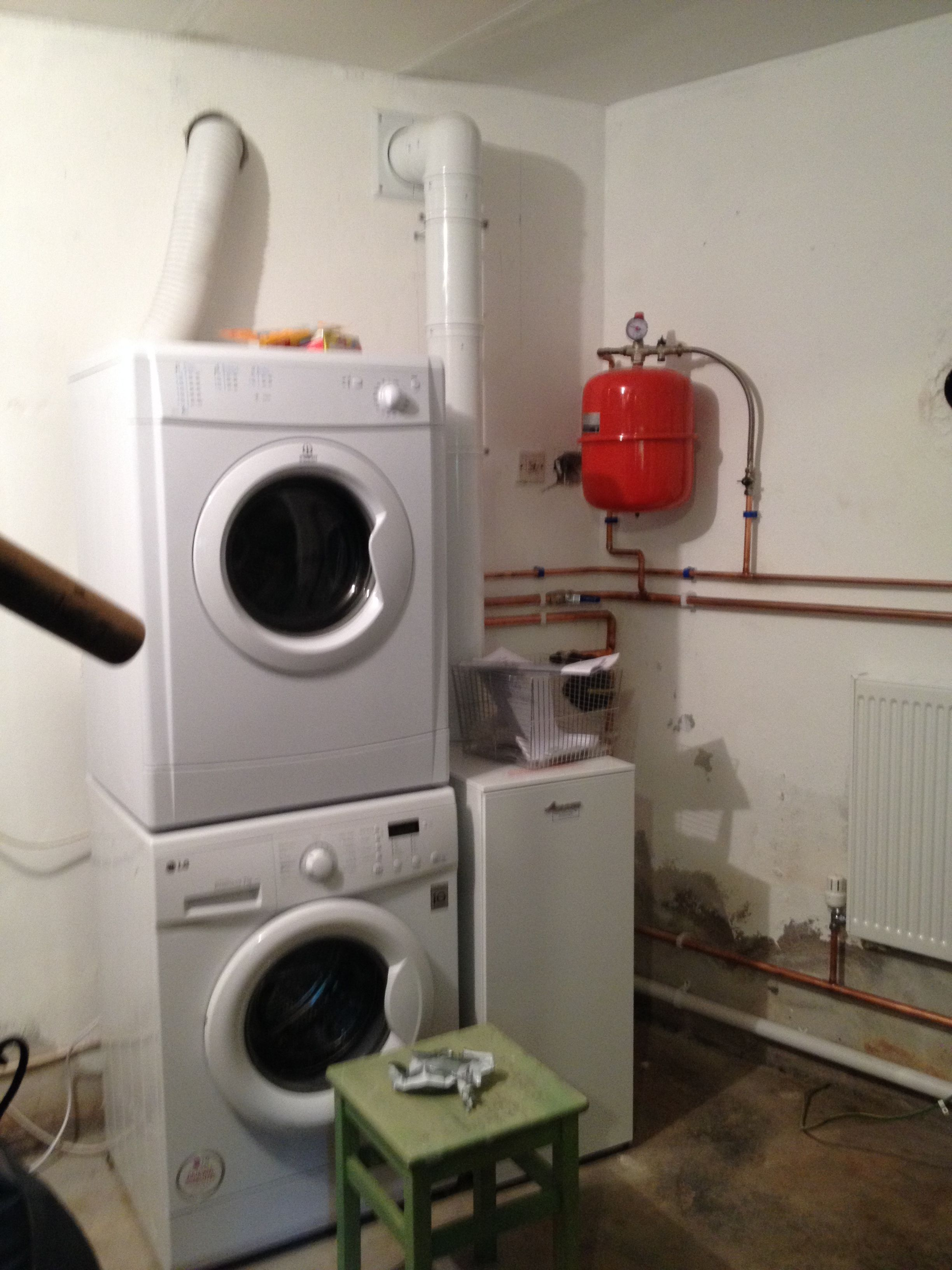 New Oil Boiler, Many Radiators Replced And Garage Plumbed For