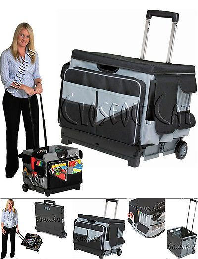 Craft Carts 146400 New Memory Stor Rolling Organizer Pull Cart