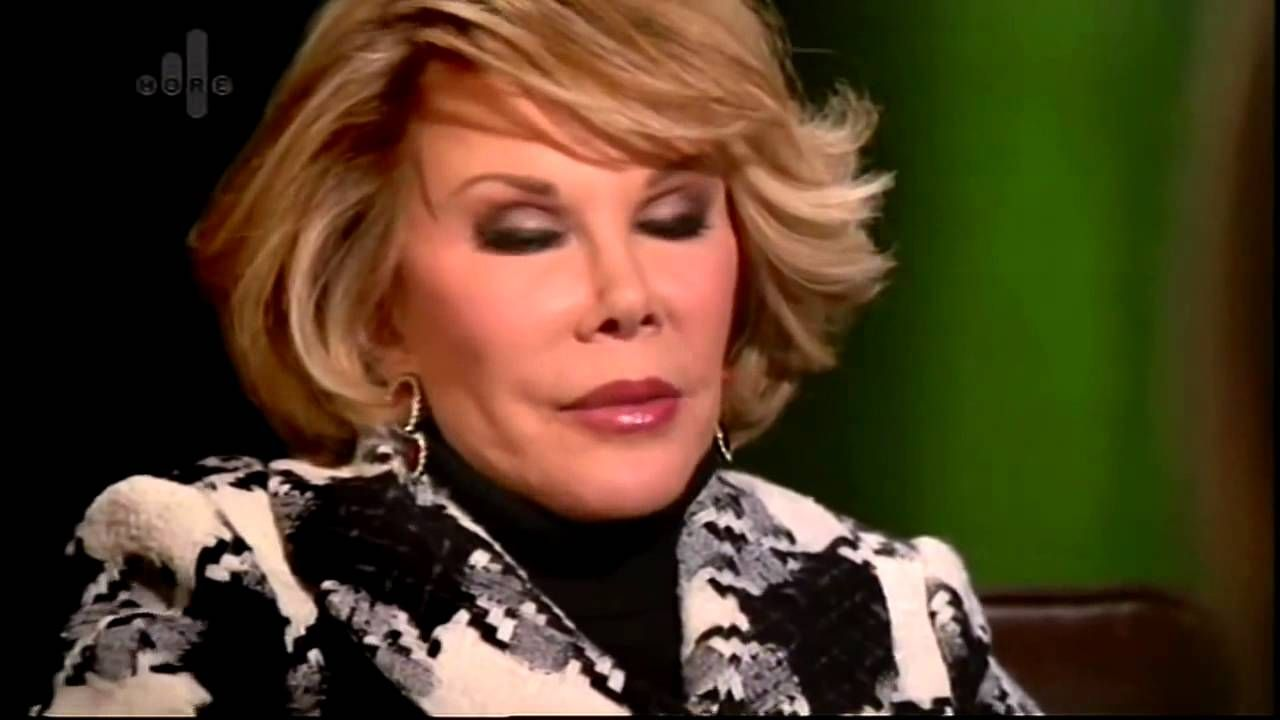 Joan Rivers Gets Her Head Shrunk! Great In Depth Interview with Dr Pamel...