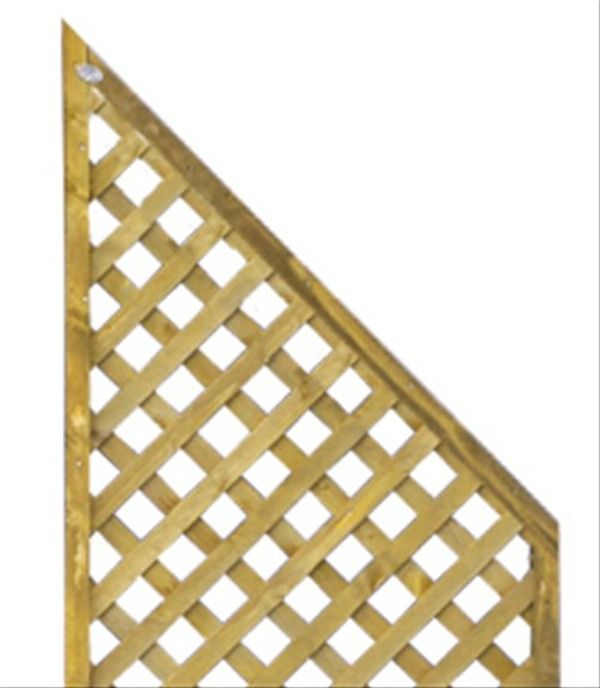 wing wooden trellis 0 6m x 1 8m by grange fencing