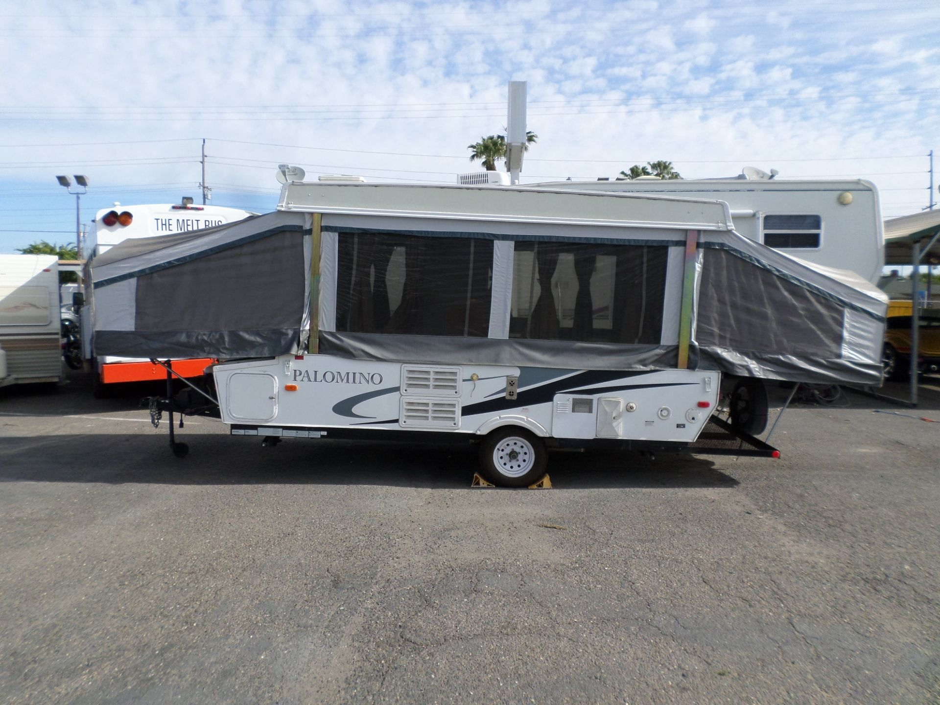 2012 Forest River Palomino 4123 Tent Trailer Popup Used