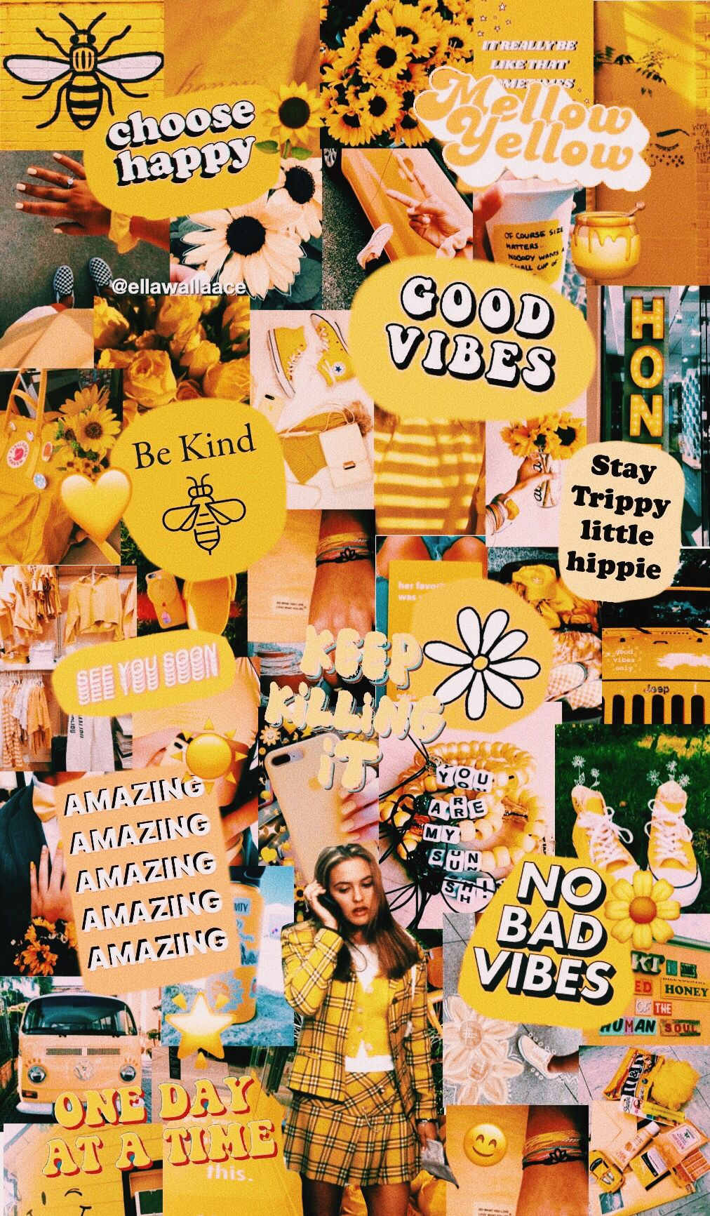 Follow Me On Vsco Ellawallaace Iphone Wallpaper Vsco Yellow
