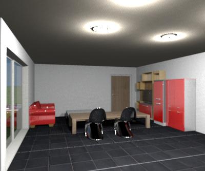 Progetto Soggiorno ~ Progetto soggiorno da villa creato da me idee di arredamento