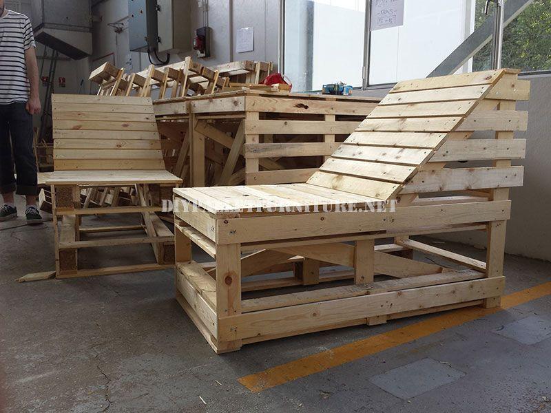 planos para hacer una chaiselong modular con palets - Mobiliario Con Palets