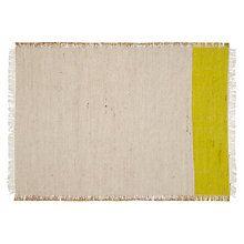Buy John Lewis Solo Stripe Placemat, Yellow Online at johnlewis.com