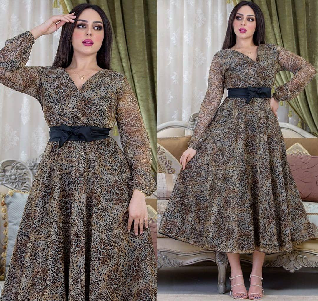 فستان تايجر ناعم سعره 290 درهم متوفر S M L Xl Fashion Style Formal