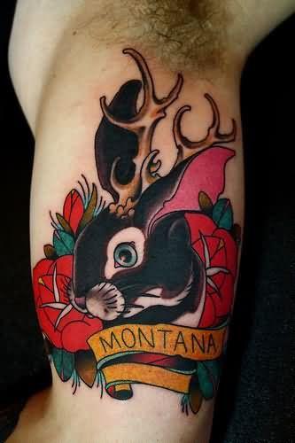 Red Rabbit Tattoo : rabbit, tattoo, Rabbit, Tattoo, Images, Designs, Tattoos,, Animal, Tattoo,, Tattoos
