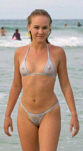 Sheer Bikini Girls