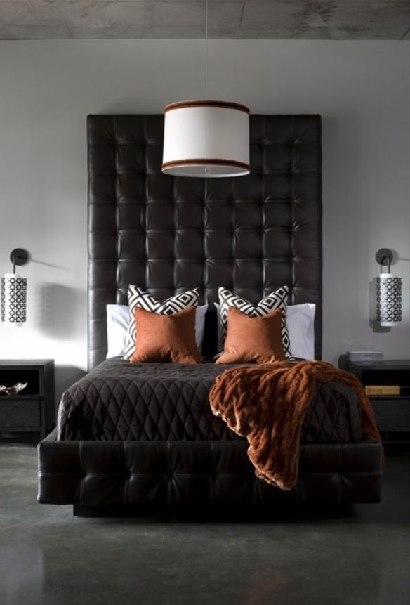 Great Color To Accent Blk White Glamorous Room Orange Accents Bedroom Bedroom Orange