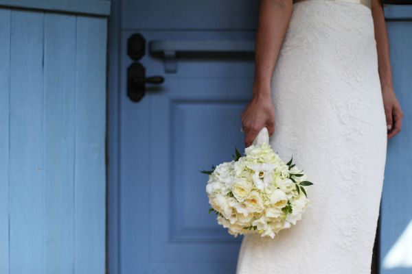 wedding + beautiful colored door.. amazing!! Style Me Pretty | Gallery
