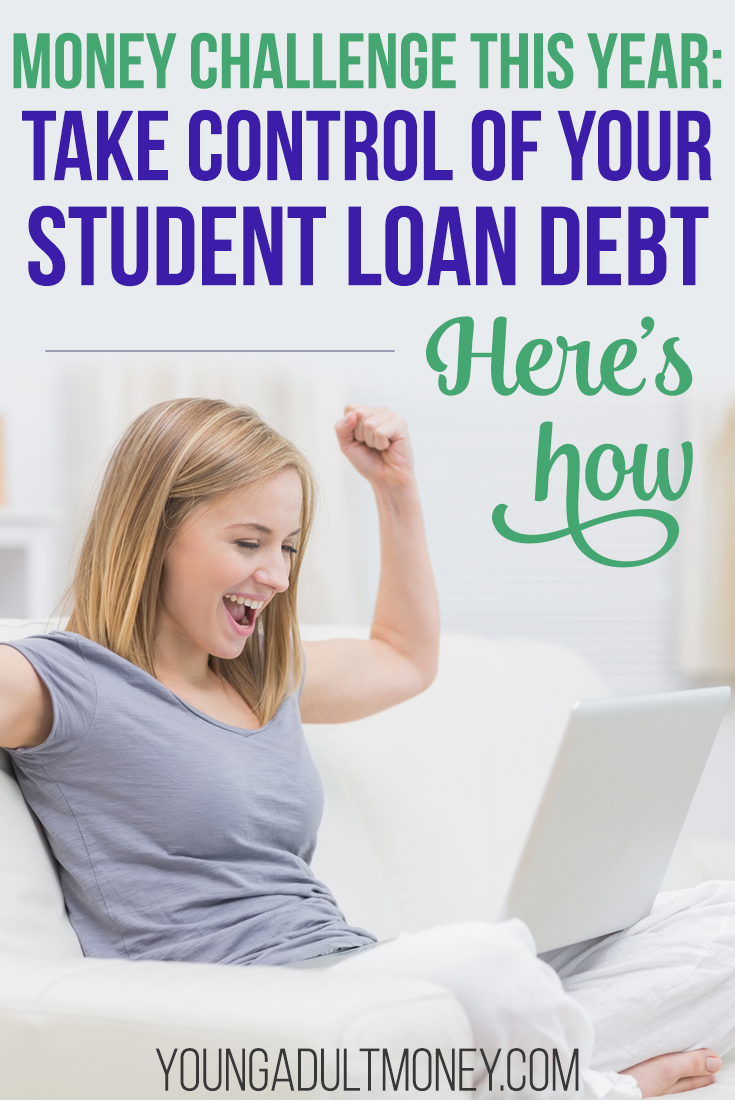 Money Challenge Take Control Of Your Student Loans Student