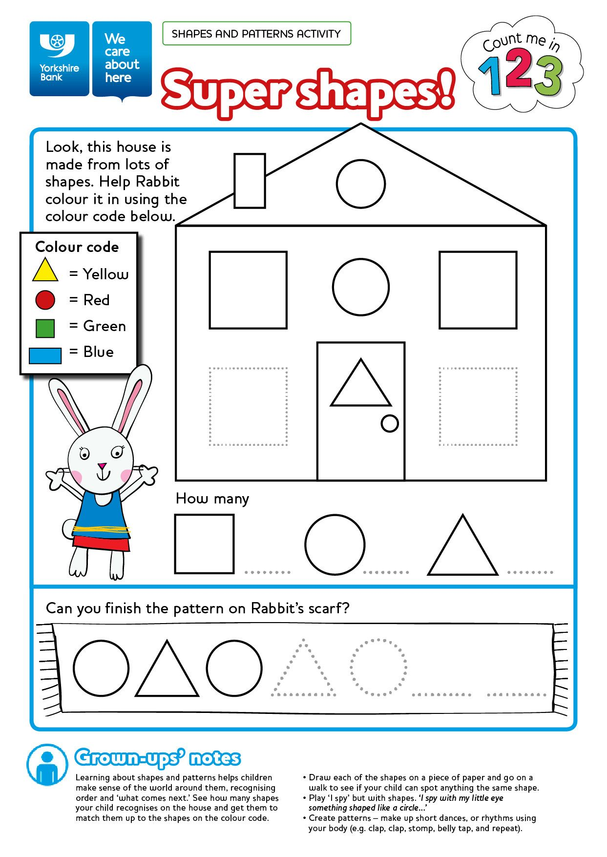 5 Printable Shape Matching Worksheets In