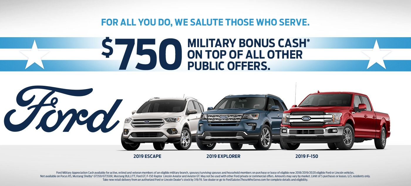 Ford Honors Military Servicemen And Servicewomen Who Serve Our