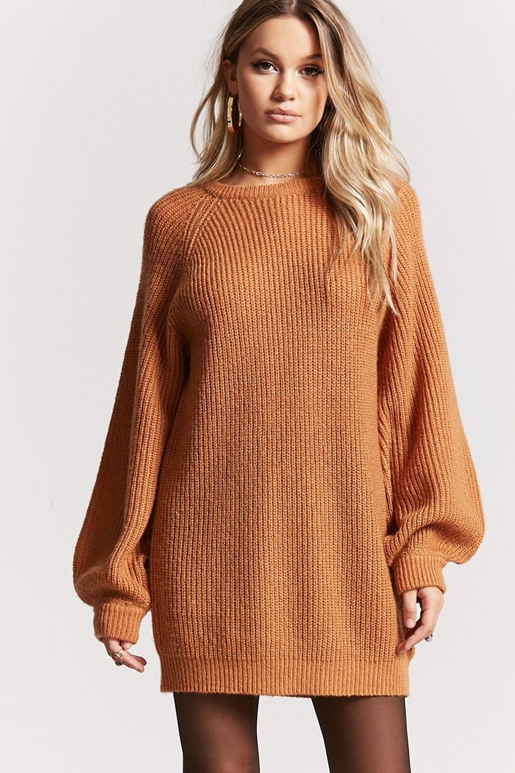 63ea6ac1bb14eb Product Name:Oversized Ribbed Knit Sweater Dress, Category:dress, Price:22.9
