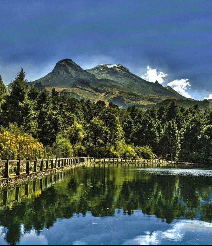 Vista del Parque Izta-Popo