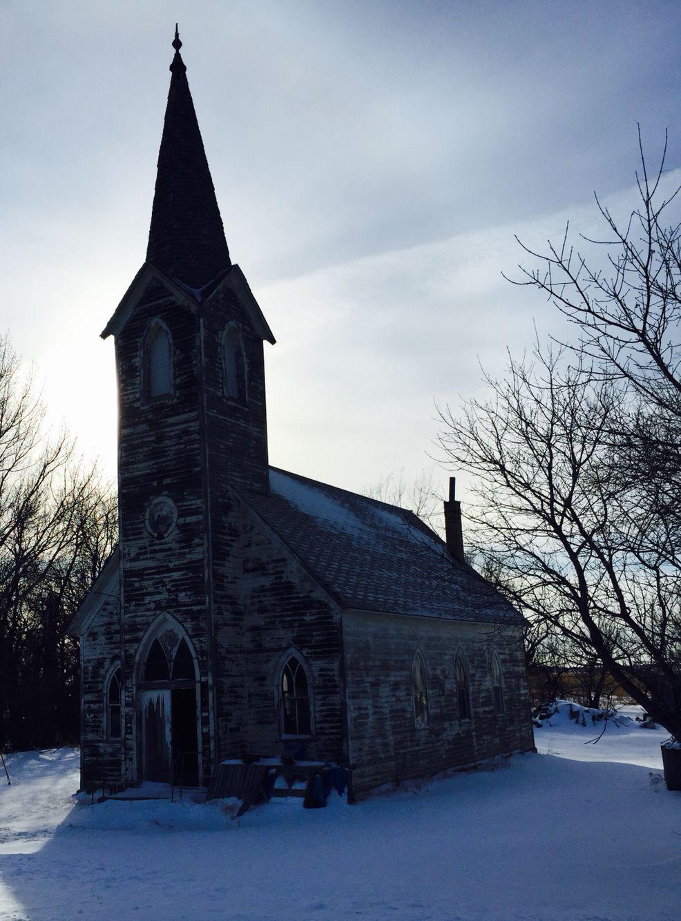 Larsen, ND Old Church