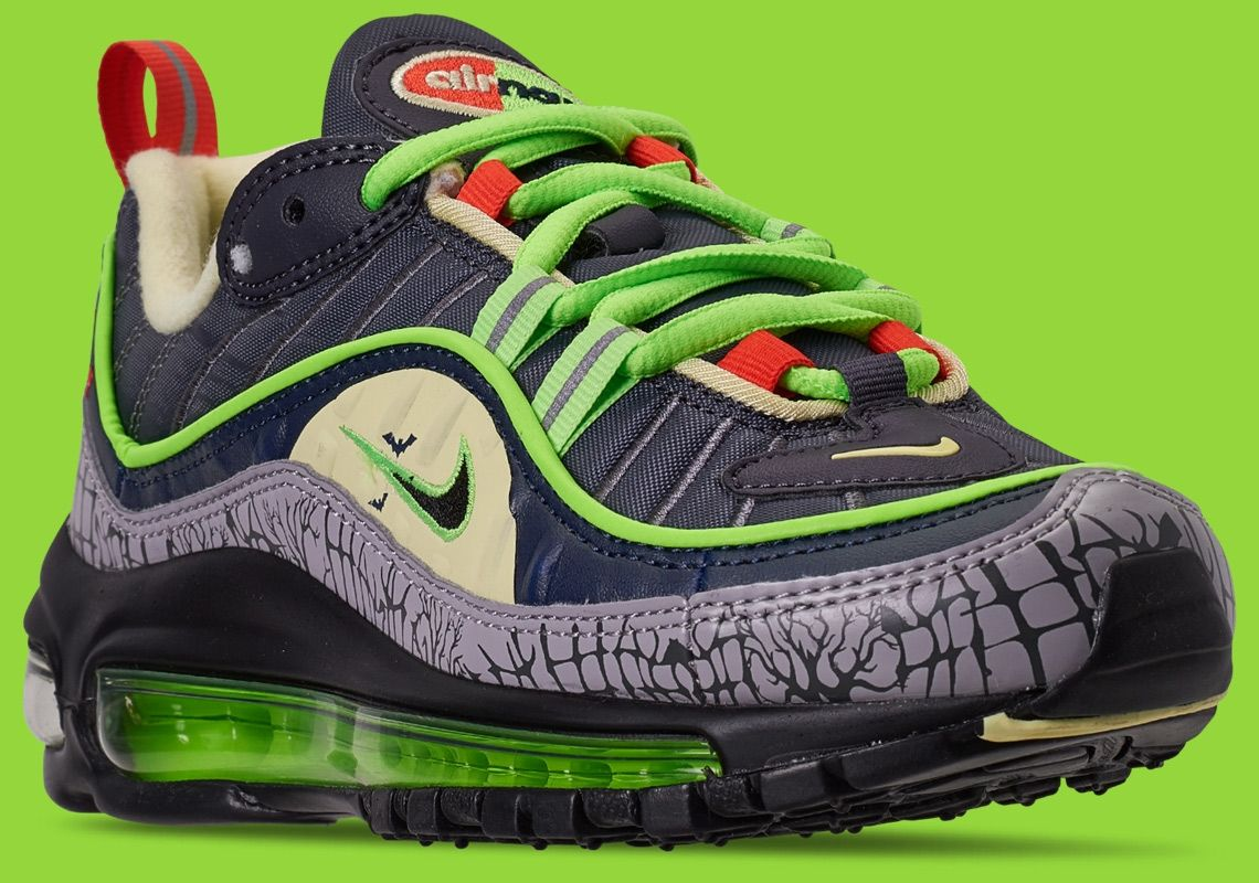Nike Air Max 98 Halloween CT1171 001 Release Info | Ruß