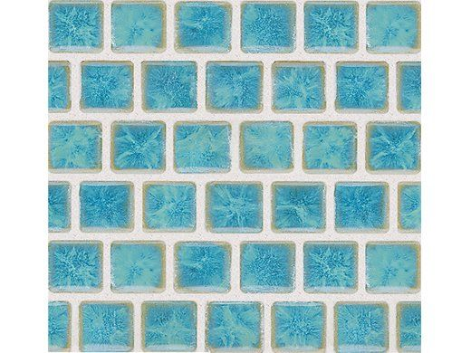 National Pool Tile Mini Koyn 1 1 8 X1 1 8 Series Pool Tile Olive Blue Mk1331 Tiles Color Tile Cool Pools