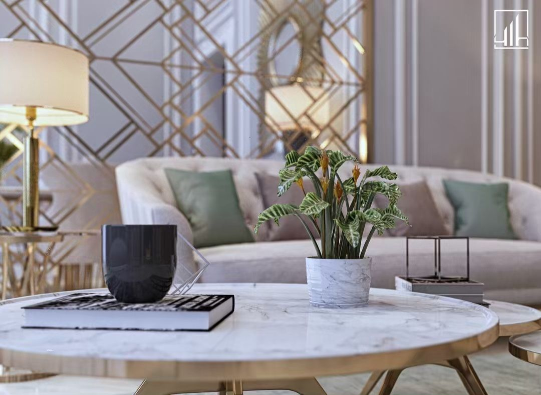 صالة مفتوحة على غرفة الطعام بطراز معاصر لفيلا سكنية خاصة للتواصل 0544776400 حسابنا على التويتر Living Room Design Modern Bedroom Decor Living Room Designs