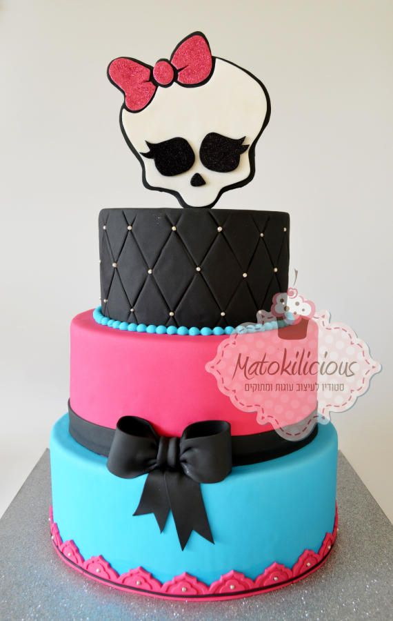 Cakes By Dusty Cakes Kids Pinterest Cake Monster high and
