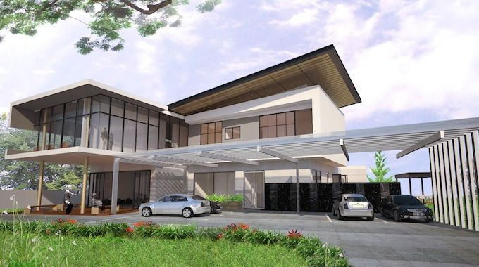 old folks nursing home design in ipoh perak malaysia - Home Design Architectural
