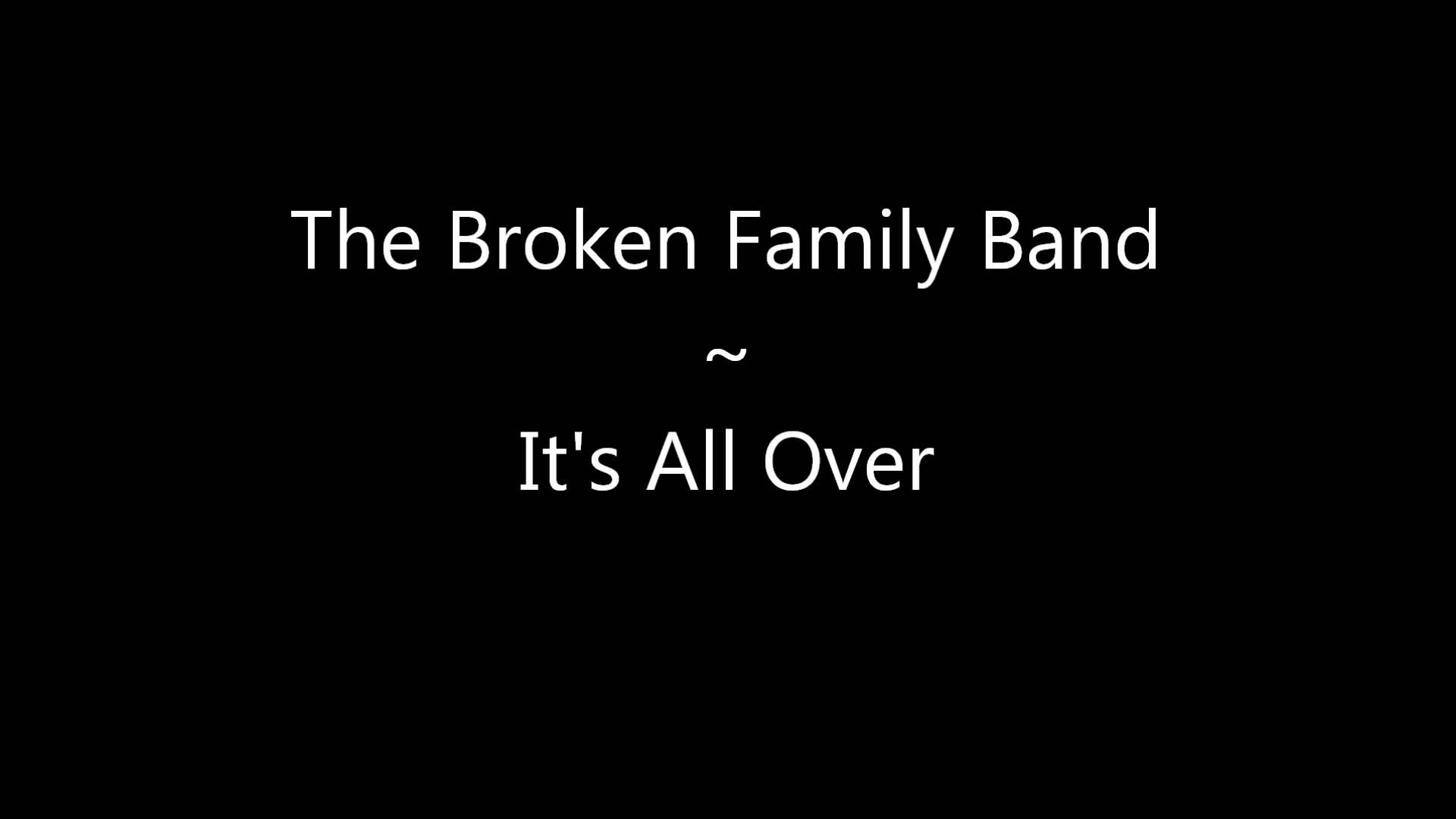 Here Comes The Rain Again Falling From The Stars The Broken Family Band It S All Over Band Music Bands Lyrics