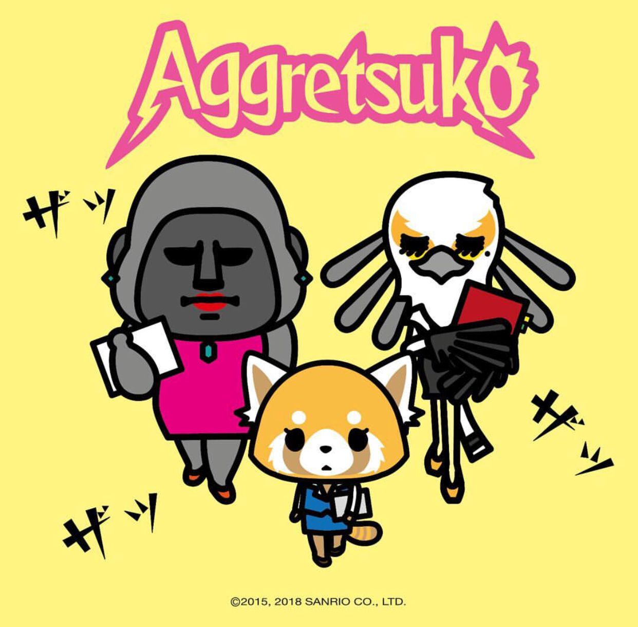 Have you checked Aggretsuko on Netflix yet??? Anime love