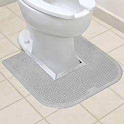 Toilet Floor Mats Gray S 14731gr Grey Floor Mat Bathroom Floor Mat Toilet Rug