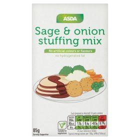 Asda Smartprice Sage Onion Stuffing Mix Online Food Shopping