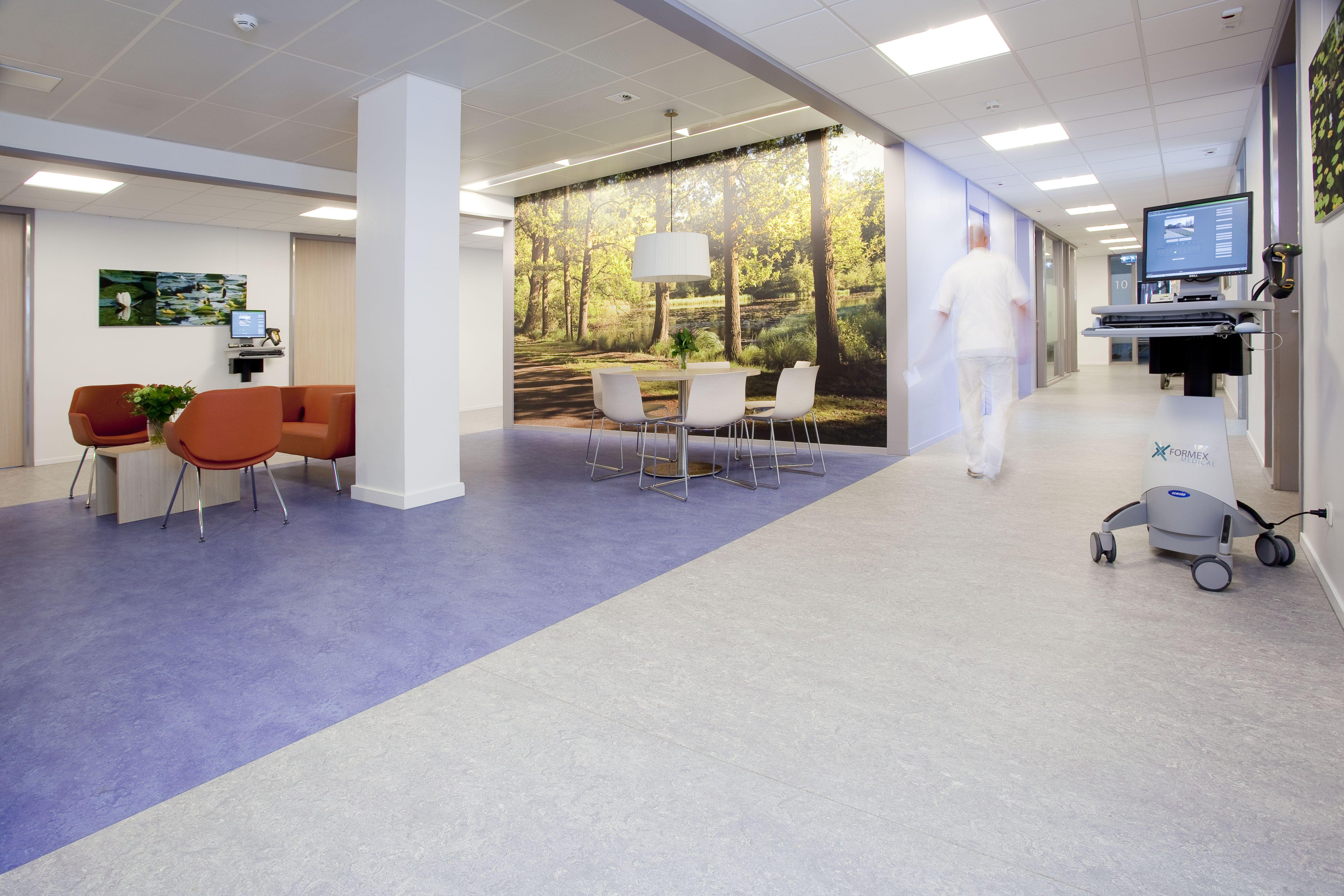 hospital st elisabeth tilburg the netherlands marmoleum real