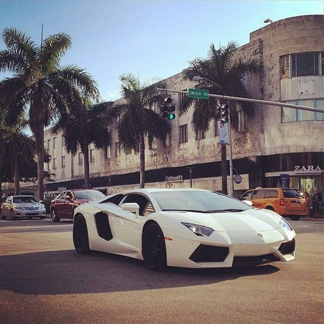 Lamborghini Is Superb Collection Of South Beach Exotic