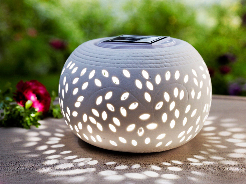 Solar Tischleuchte Ceramica Jetzt Bei Weltbild De Bestellen Tischleuchte Solar Solarbeleuchtung