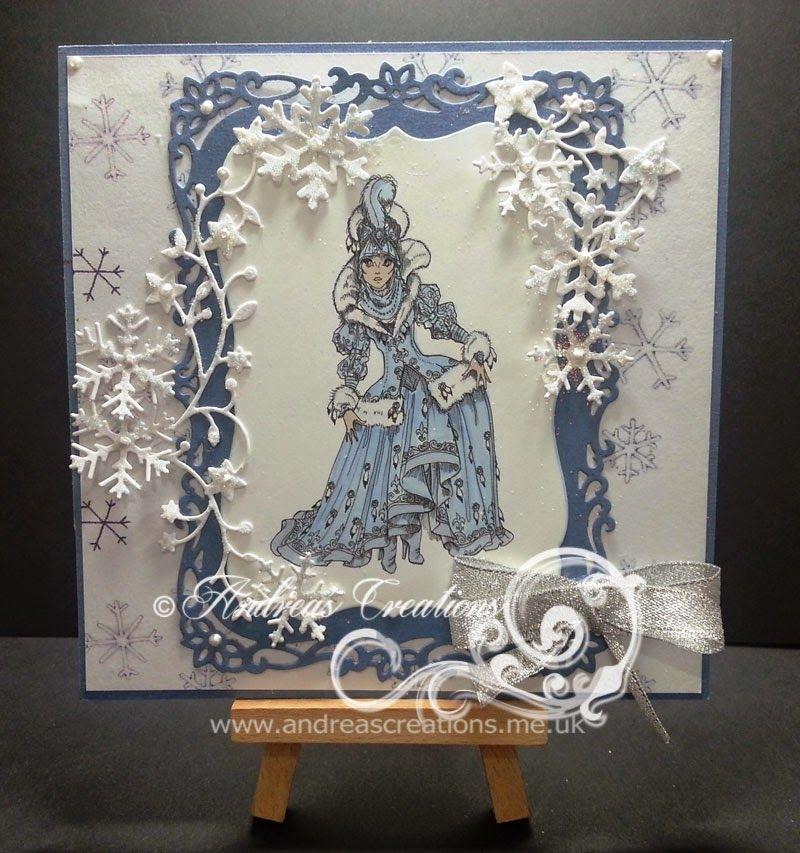 The Snow Queen - Rick St Dennis Digi Stamp
