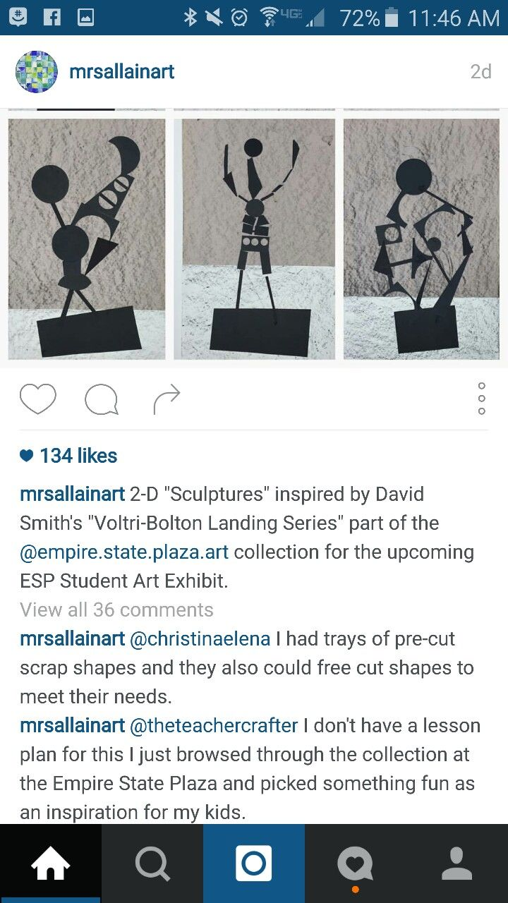 2 D sculptures Voltri-Bolton Landing Series. Empire state Plaza art collection.