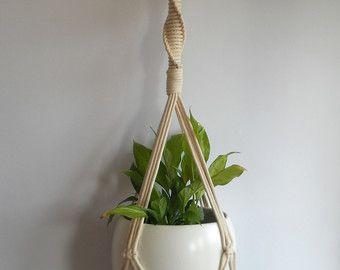 Plant Hanger Many Long Modern Macrame Beaded Indoor Holder Hanging Planter Basket Baby Room Decoration