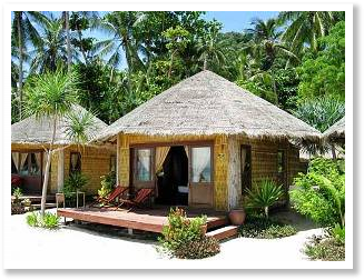 Tropical Beach Huts Bamboo Hut Mage Picture Silver Sands Tao