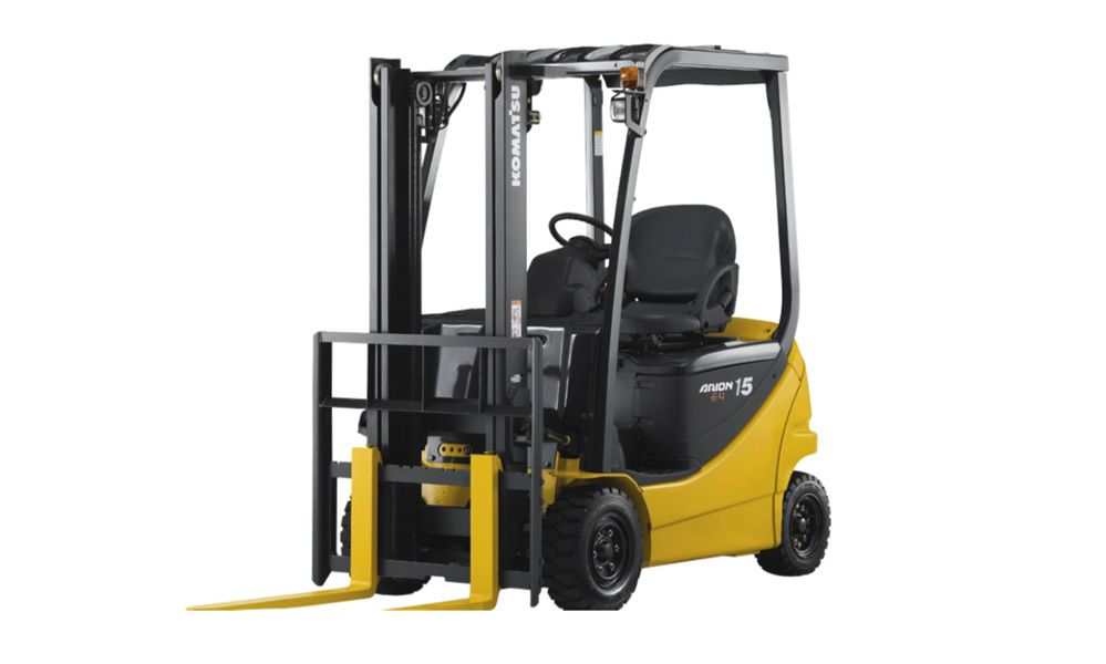 Komatsu FB15 12 Electric Forklift Error Codes Download