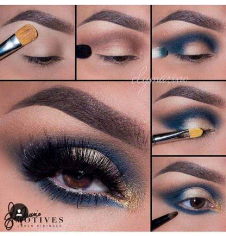 dark bluee!   Maquillaje De Ojos   Pinterest   Maquillaje ...